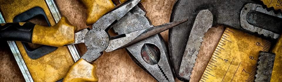 gereedschappen van een loodgieter